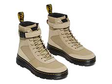 TRACT COMBS TECH 8EYE BOOT(26457273)SAND CANVAS+HI SUEDE WPの右斜め前からの写真