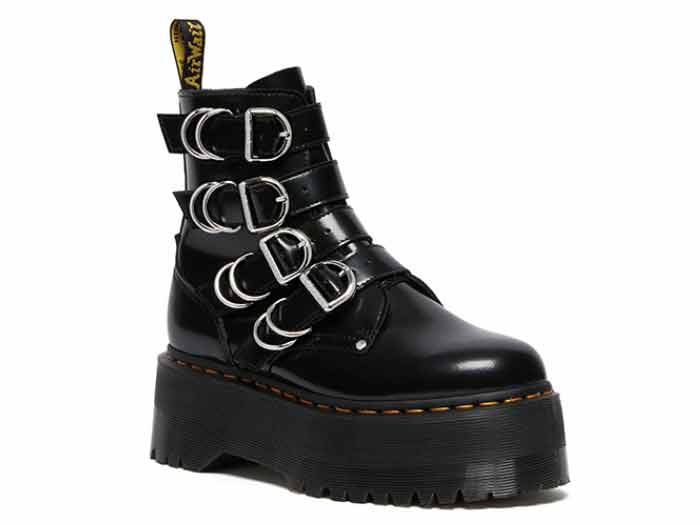 QUAD RETRO MAX JADON MAX HDW 4STRAP BOOT(26524001)BLACK BUTTEROのメイン商品写真