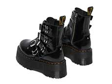 QUAD RETRO MAX JADON MAX HDW 4STRAP BOOT(26524001)BLACK BUTTEROの左斜め後ろ向き写真