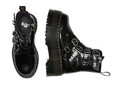 QUAD RETRO MAX JADON MAX HDW 4STRAP BOOT(26524001)BLACK BUTTEROの上からの写真