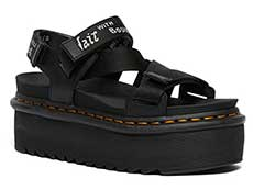 QUAD ZEBRILUS KIMBER SANDAL(26532001)BLACK+WHITE/LIGHT GREY HYDRO+LOGO WEBBING 詳細ページへ