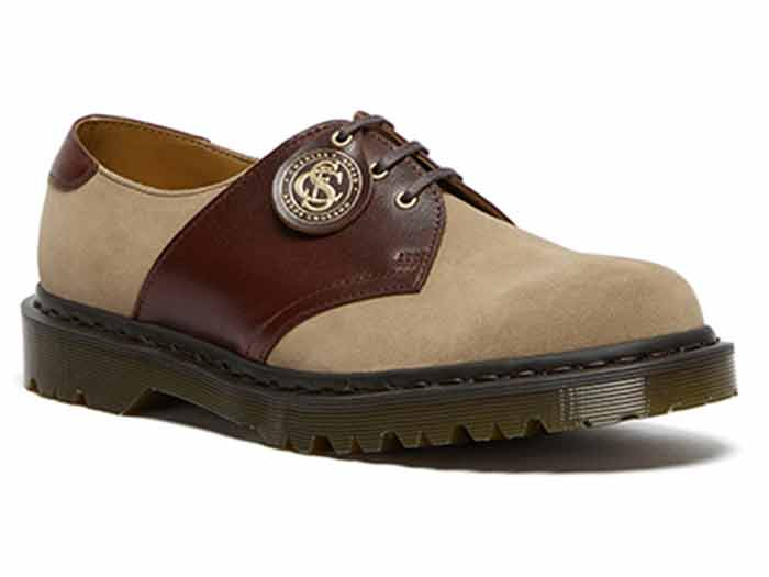 MIE FASHION 1461 3EYE SADDLE SHOE(26709207)GAUCHO+POLO BROWNのメイン商品写真