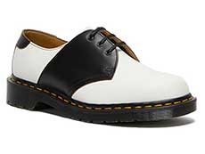 MIE FASHION 1461 SADDLE 3EYE SHOE(26710101)WHITE+BLACK SMOOTH+VINTAGE SMOOTH 詳細ページへ