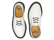 CORE 1461 3EYE SHOE(26754100)WHITE PATENTの上からの写真