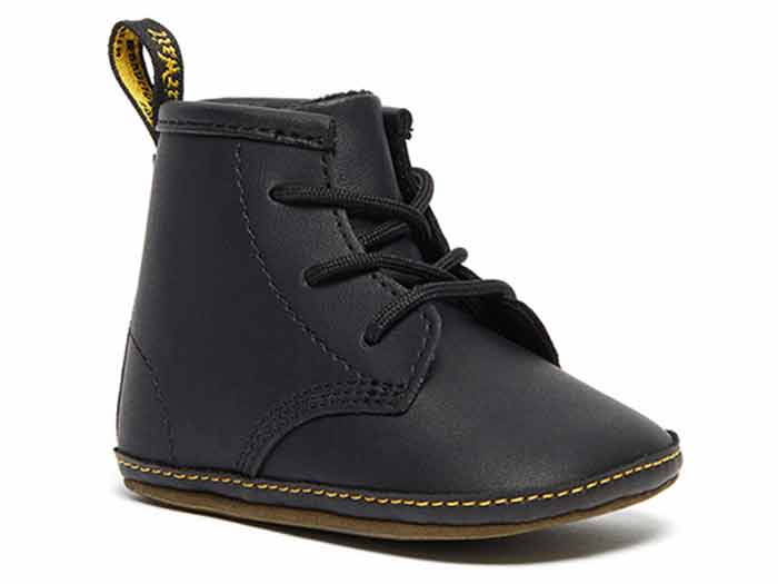 CORE KIDS 1460 CRIB LACE BOOTIE(26808001)BLACK MASON NW SYNTHETIC+MASON PU SPLITのメイン商品写真