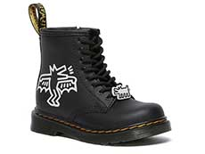 COLLABORATION 1460 KH J JUNIORS LACE BOOT(26835009)BLACK+WHITE KH HYDRO LEATHER 詳細ページへ
