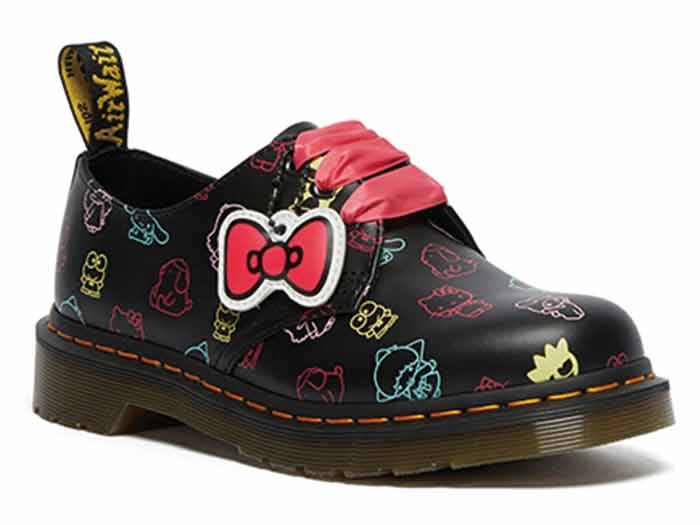 SANRIO 1461 HELLO KITTY AND FRIENDS 3EYE SHOE(26841001)BLACK+MULTI HK&F SMOOTHのメイン商品写真