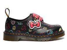 SANRIO 1461 HELLO KITTY AND FRIENDS 3EYE SHOE(26841001)BLACK+MULTI HK&F SMOOTHの右横向き写真