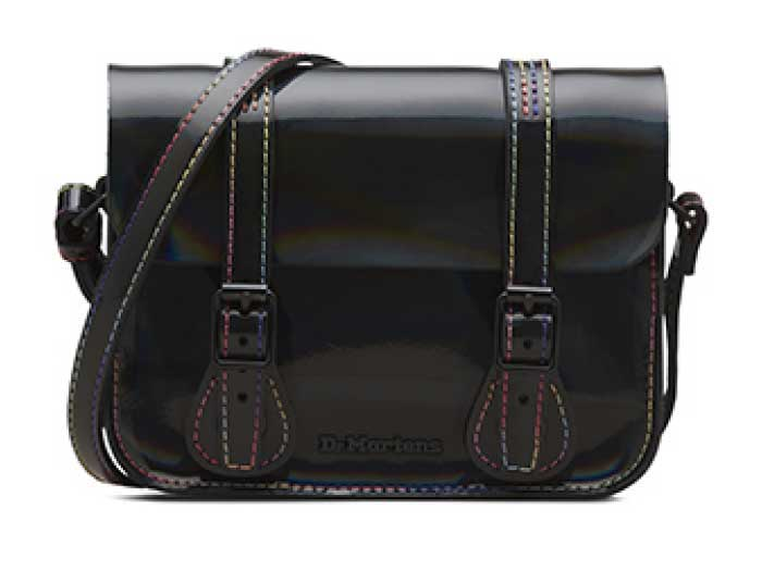 "7""RAINBOW SATCHEL BAG(AB017014) BLACK RAINBOWのメイン商品写真"