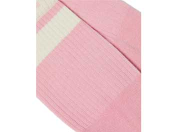 ATHLETIC LOGO SOCK(AC681688)MID PINK+EGRET COTTON BLENDの商品写真2